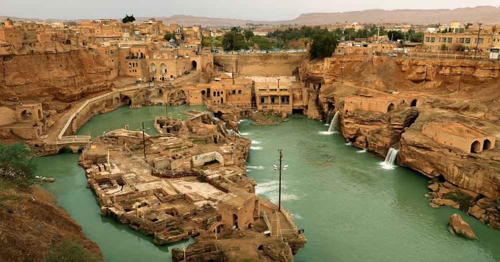 The Shushtar Historical Hydraulic System (Iran)